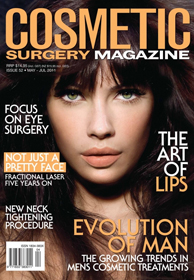 Liposuction in Cosmetic Surgery Magazine