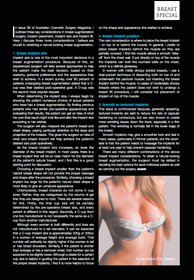 Breast augmentation performed by Dr Kourosh Tavakoli in the media.