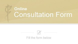 Online Consultation Form for Dr Kourosh Tavakoli