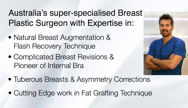 Dr Kourosh Tavakoli is Australia's Super Specialised Breast Surgeon